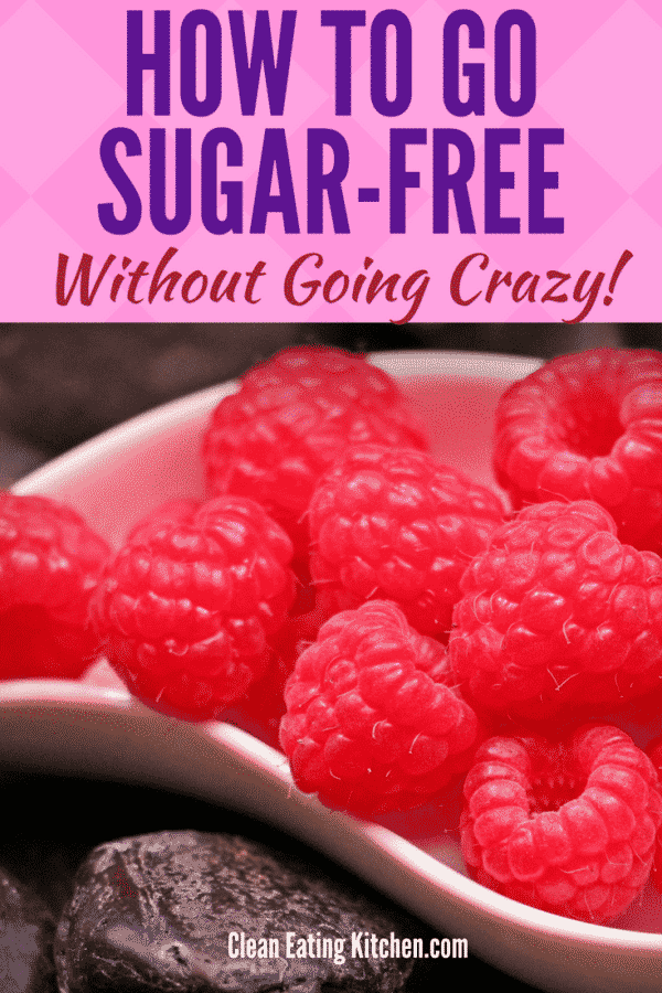 Go sugar-free without going crazy