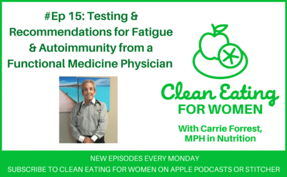 Clean Eating for Women podcast interview with a functional medicine physician