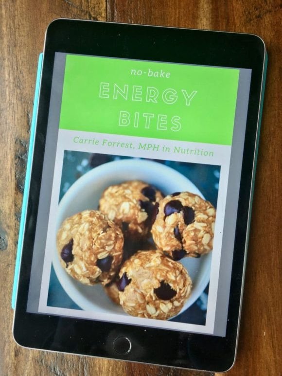 Energy Bites revised ebook