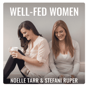 well fed women podcast cover art