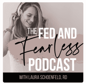 fed and fearless podcast cover art