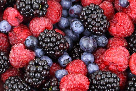 berries colorful