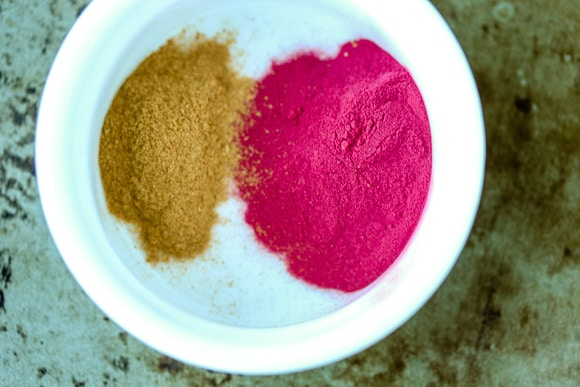 Paleo Coconut Fat Bombs beet powder