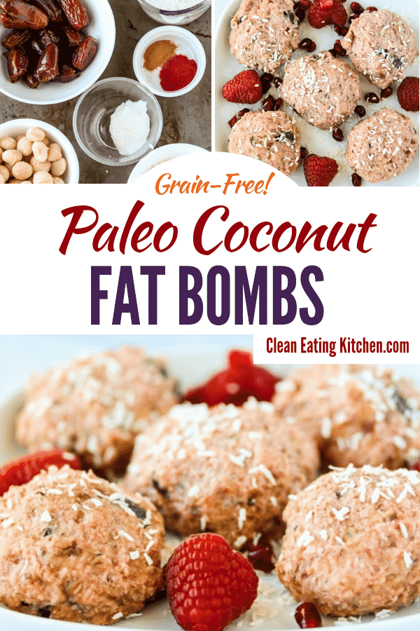 paleo coconut fat bombs