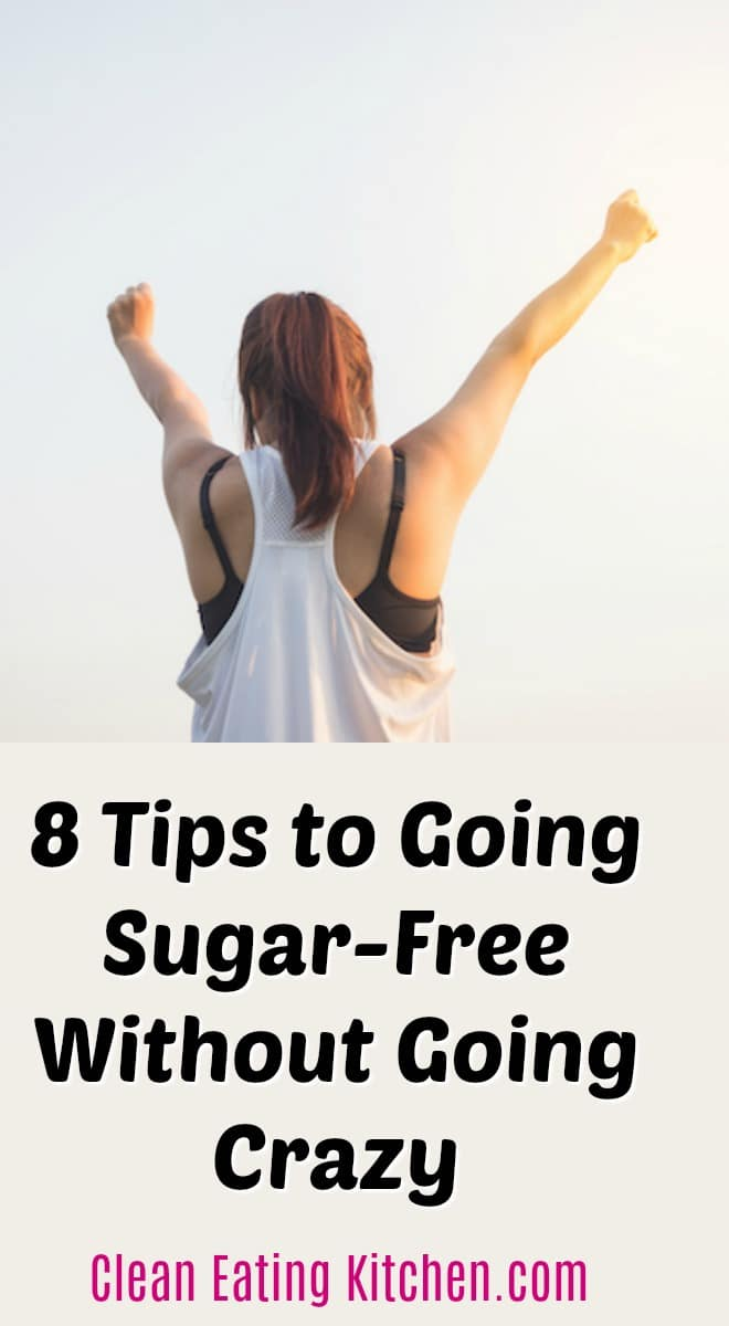 If one of your New Year's resolutions was to cut sugar from your diet, you're not alone. Going sugar-free seems to be a common resolution this year. But don't let it drive you crazy!  #sugarfree #holistichealth #nutrition #healthliving #healthtips