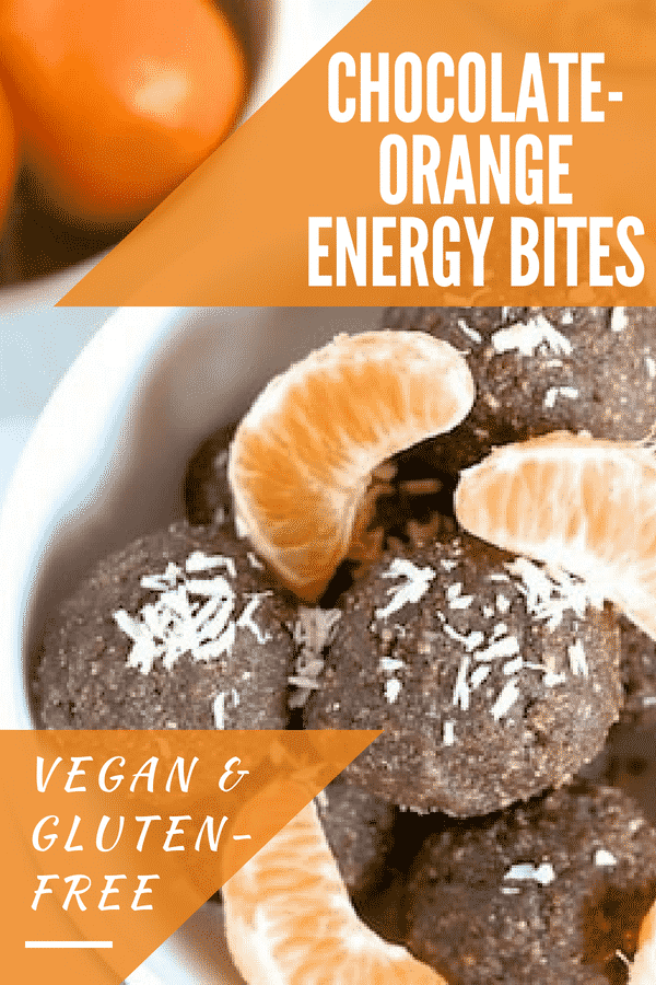 Chocolate-Orange Energy Bites