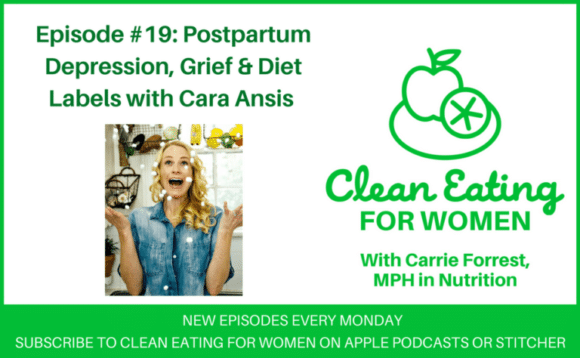 Cara Ansis is on the Clean Eating for Women podcast