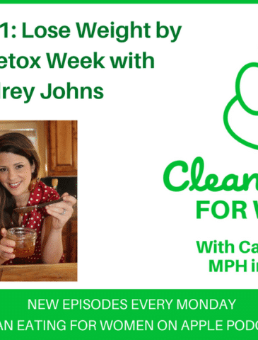 Lose Weight by Eating author on Clean Eating for Women podcast