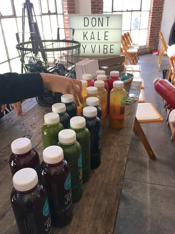 GoodFest Los Angeles juice