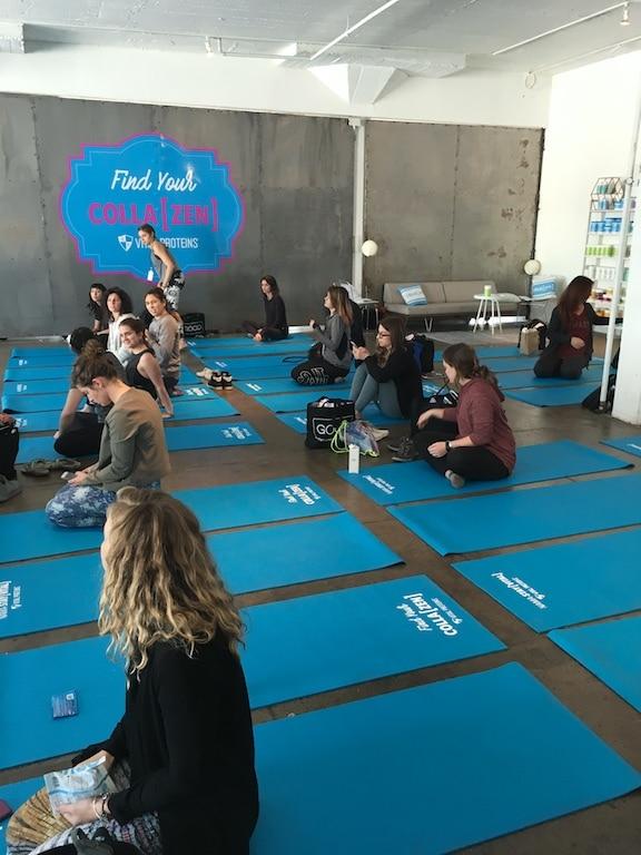 GoodFest Los Angeles yoga