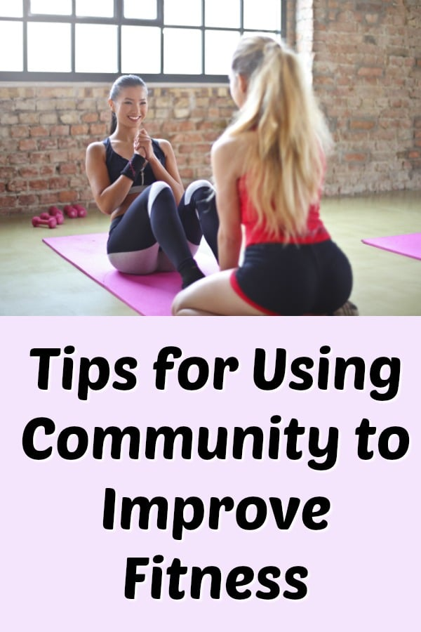 Tips for using community to get fit, including an interview with Flex it Pink creators Anna and Elisha, who share their weight loss and fitness journeys. #fitness #exercise #womenshealth #weightloss #podcast