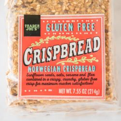 package of gluten free crispbreads