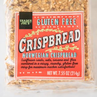 package of gluten free crispbreads