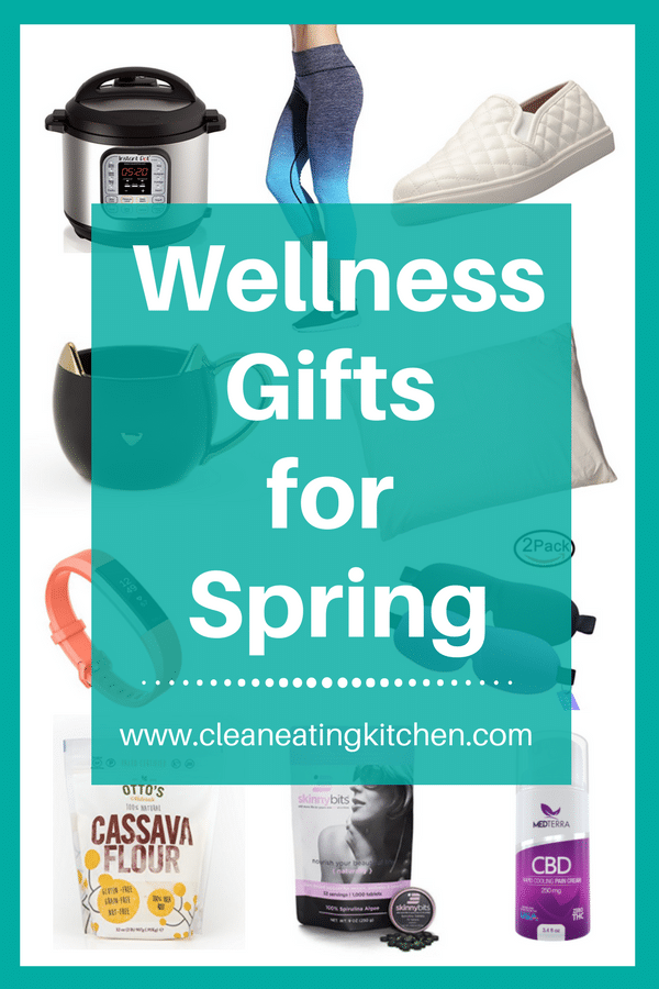 Wellness gifts for spring pin