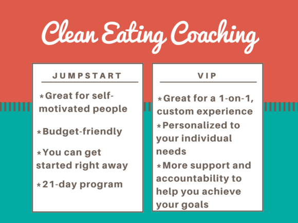 Clean Eating Coaching with Carrie Forrest, MPH in Nutrition