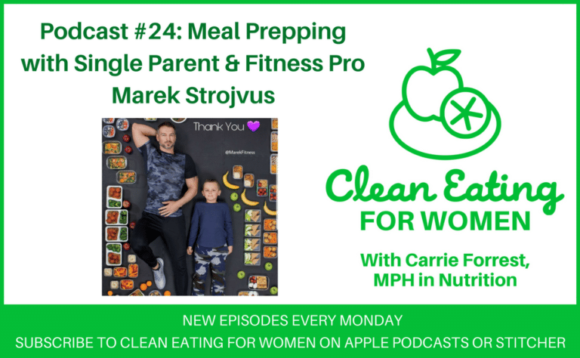 Marek Fitness on Clean Eating for Women podcast