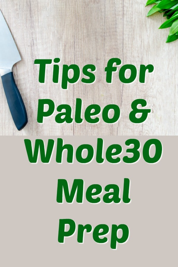Looking to meal prep and save time and money? This post includes all the healthy tips and tricks to meal prep for paleo and whole30 diets. #mealprep #podcast #whole30 #paleohacks #cleaneatingkitchen