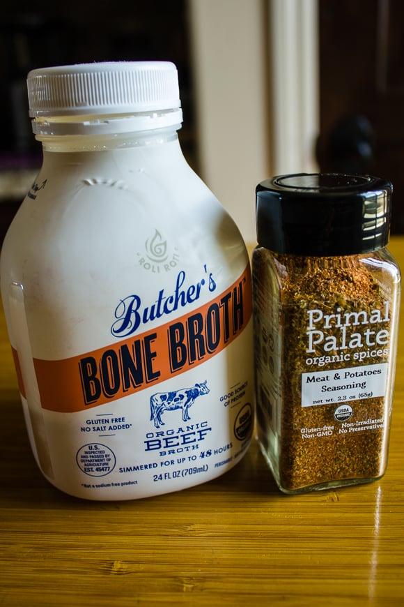 Slow-Cooker Brisket with Root Vegetables ingredients