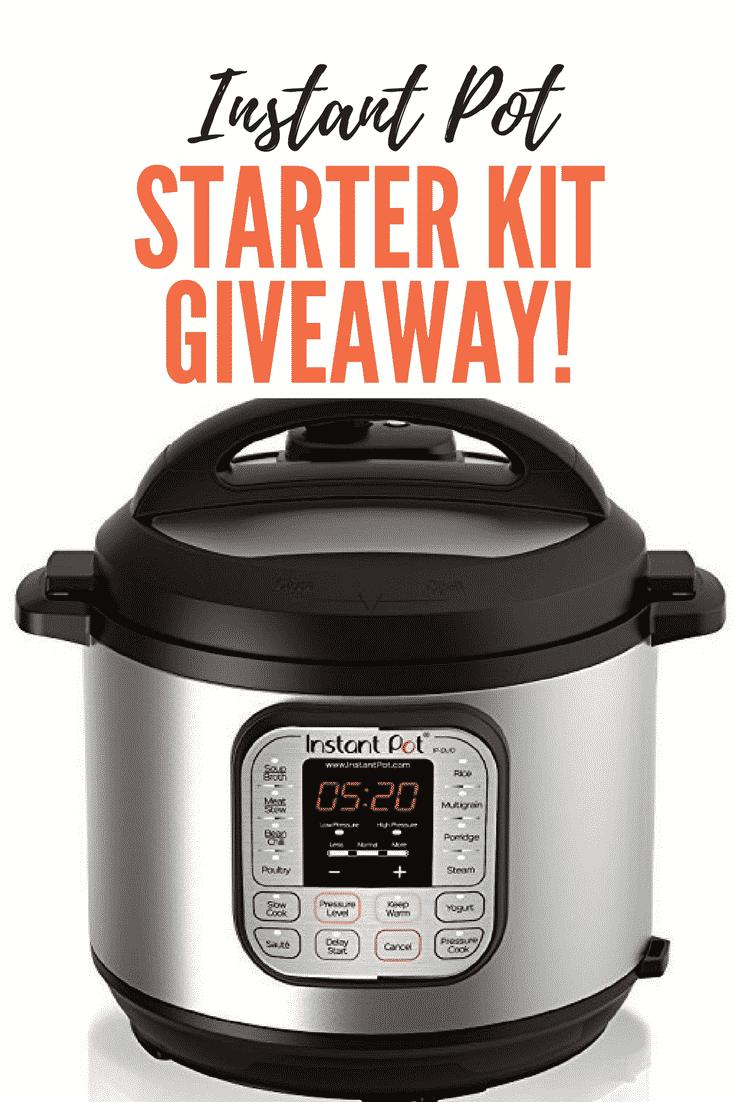 Enter my Instant Pot Starter Kit Giveaway! I'm offering a 3-quart Instant Pot plus a copy of the gorgeous new cookbook, The Paleo Instant Pot Cookbook! #instantpot #cookbook #giveaway