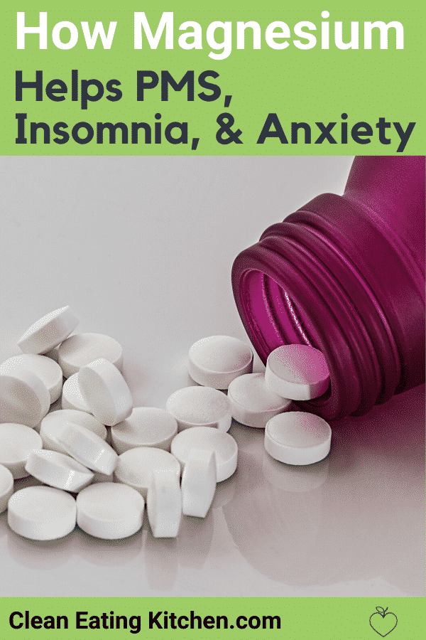 magnesium for pms insomnia and anxiety