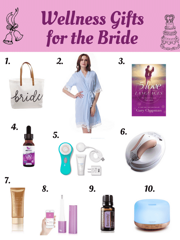 Fun & Wellness Wedding Gifts for the Bride