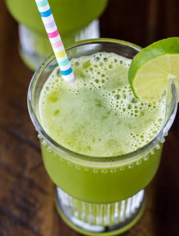 Cold-Fighting Celery Cucumber Green Juice
