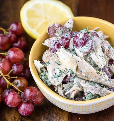 5-Ingredient Chicken Salad (Dairy-Free, Paleo, Whole30)