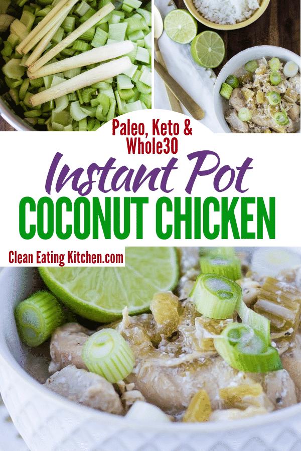 instant pot coconut chicken