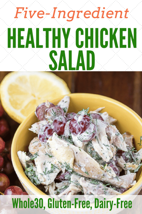 Dairy-free Chicken Salad