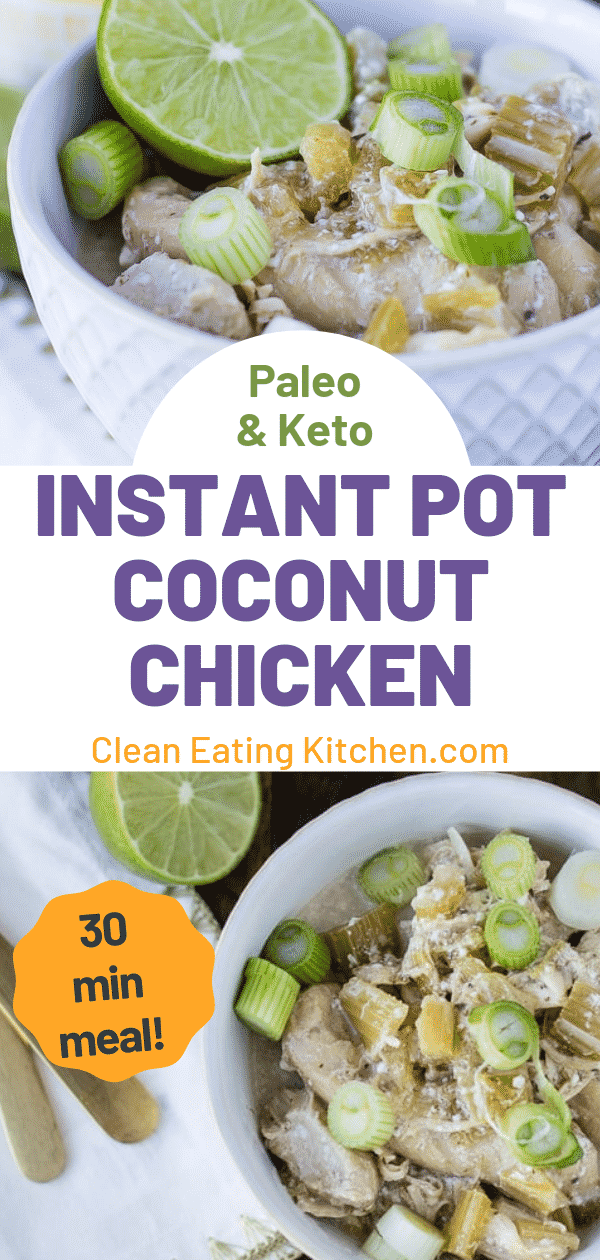 instant pot coconut chicken