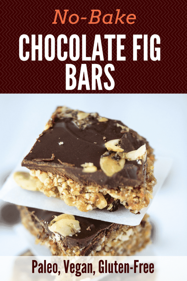 No-Bake Chocolate Fig Bars