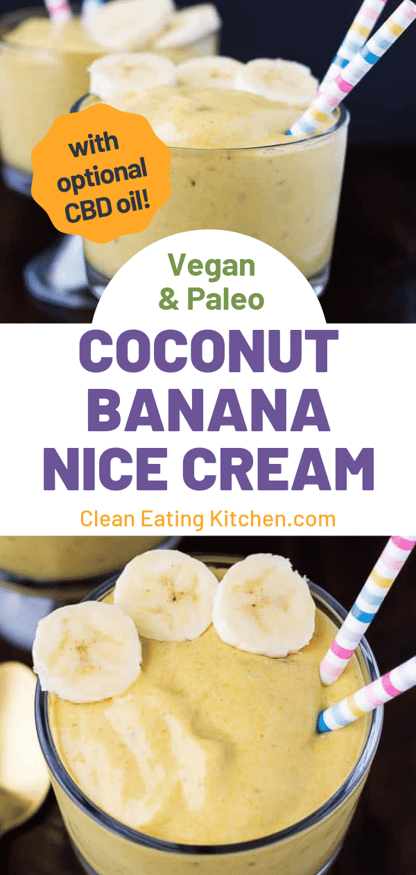 coconut banana nice cream