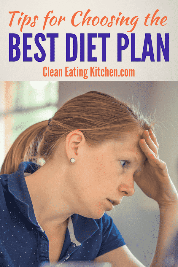 Choosing a Diet Plan