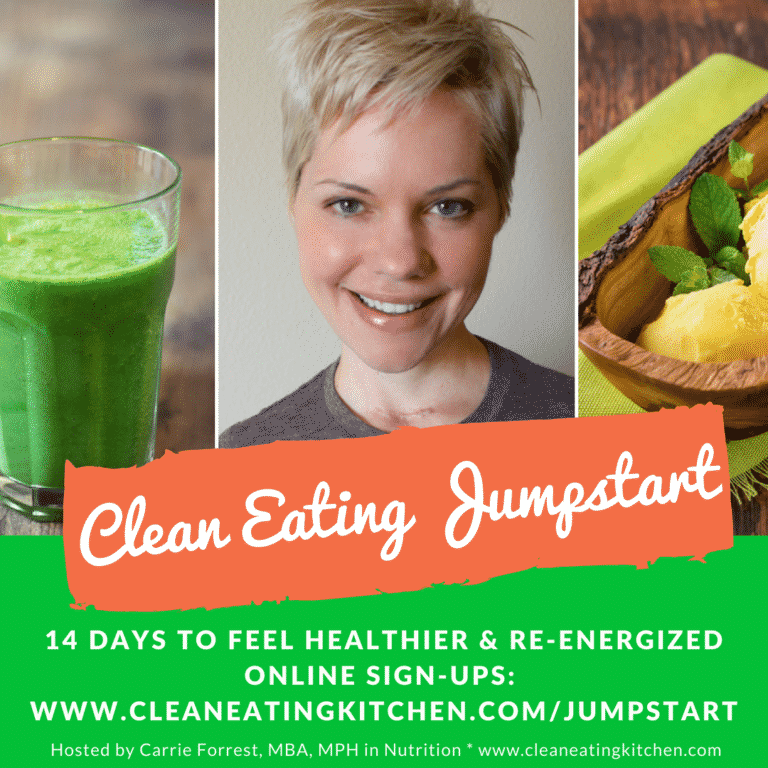 Clean Eating Jumpstart Challenge 14 days