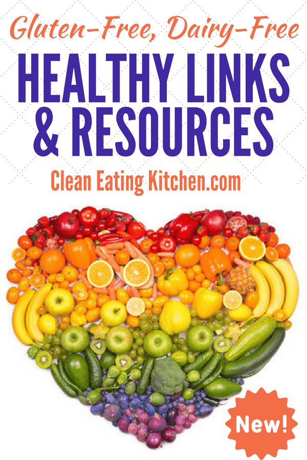 clean eating healthy links and resources