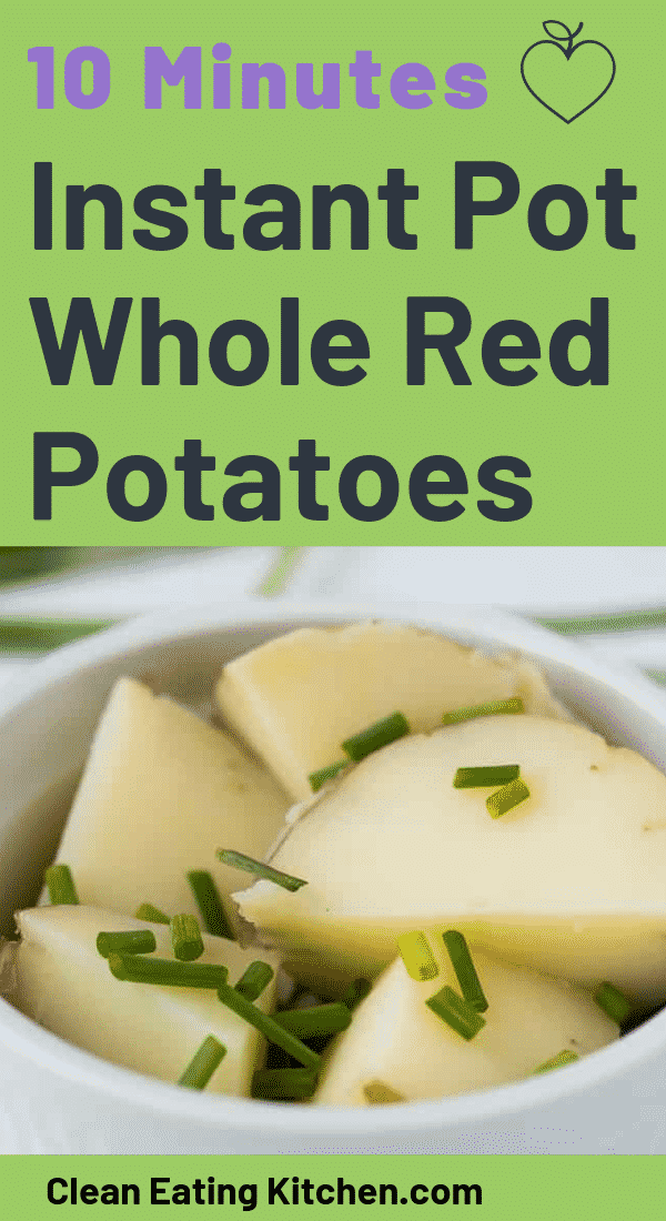 Instant Pot Whole Red Potatoes (10 Mins, Perfect Texture)