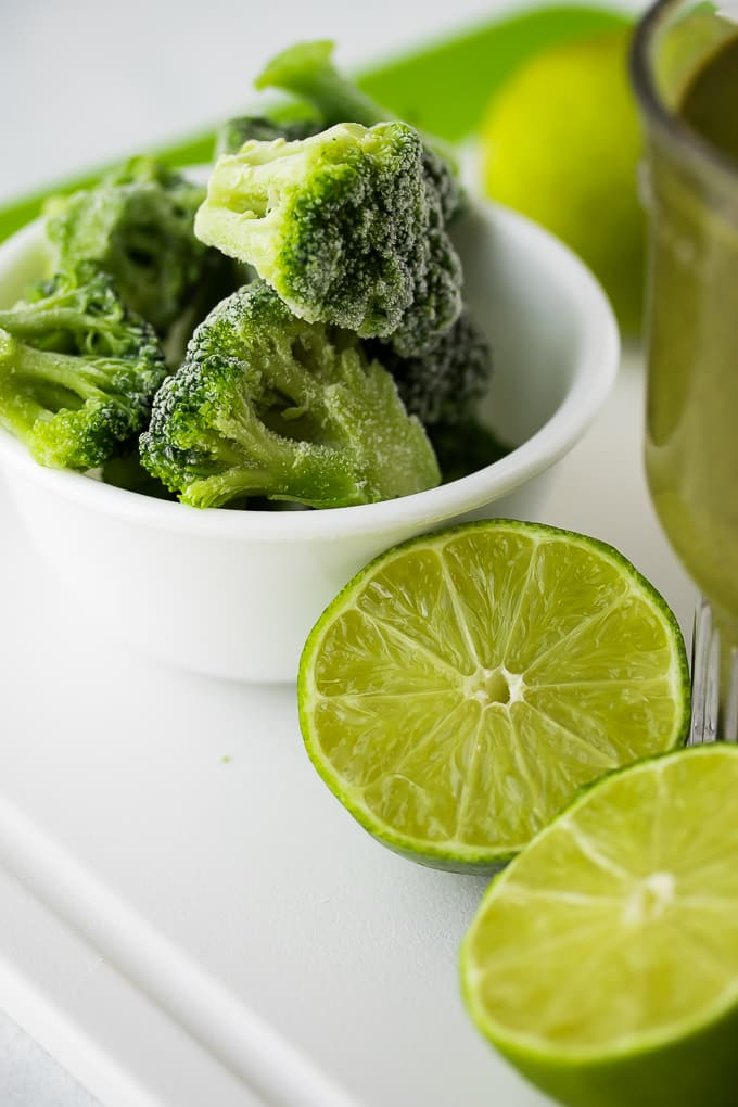 broccoli smoothie ingredients