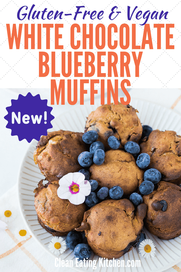 gluten free blueberry muffins vegan