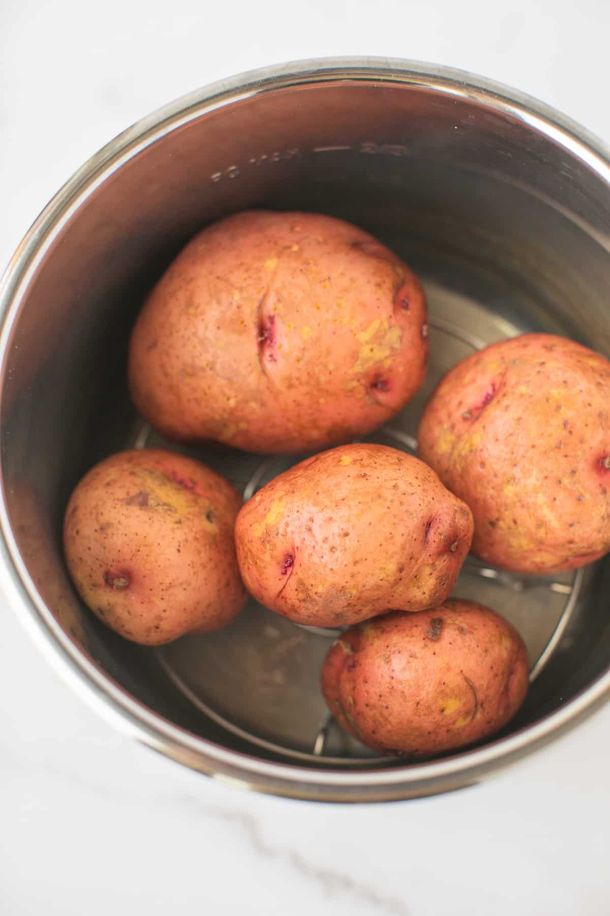 red potatoes in an instant pot pressure cooker