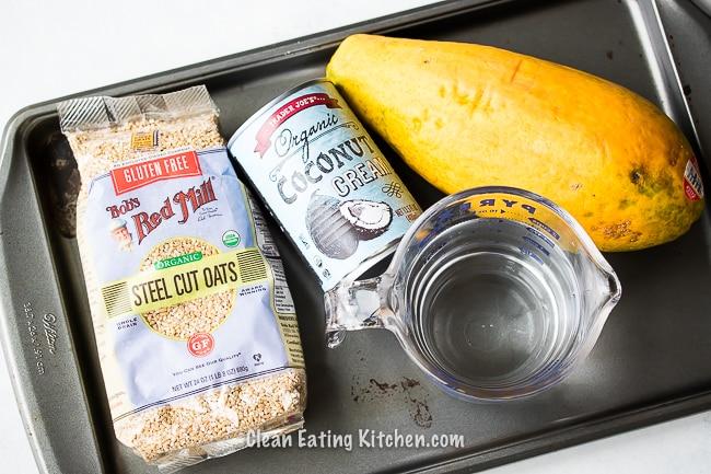 instant pot tropical steel cut oatmeal ingredients