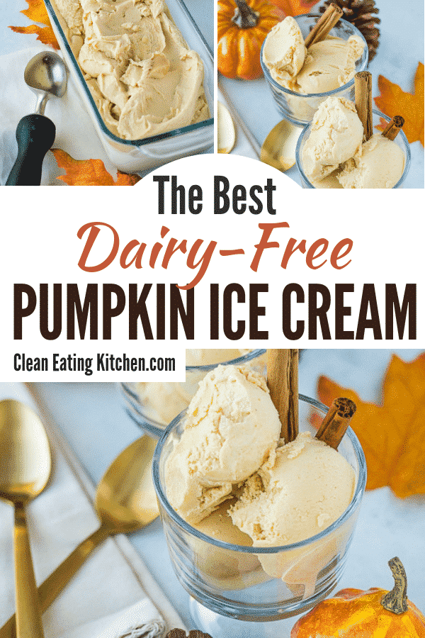 dairy free pumpkin ice cream