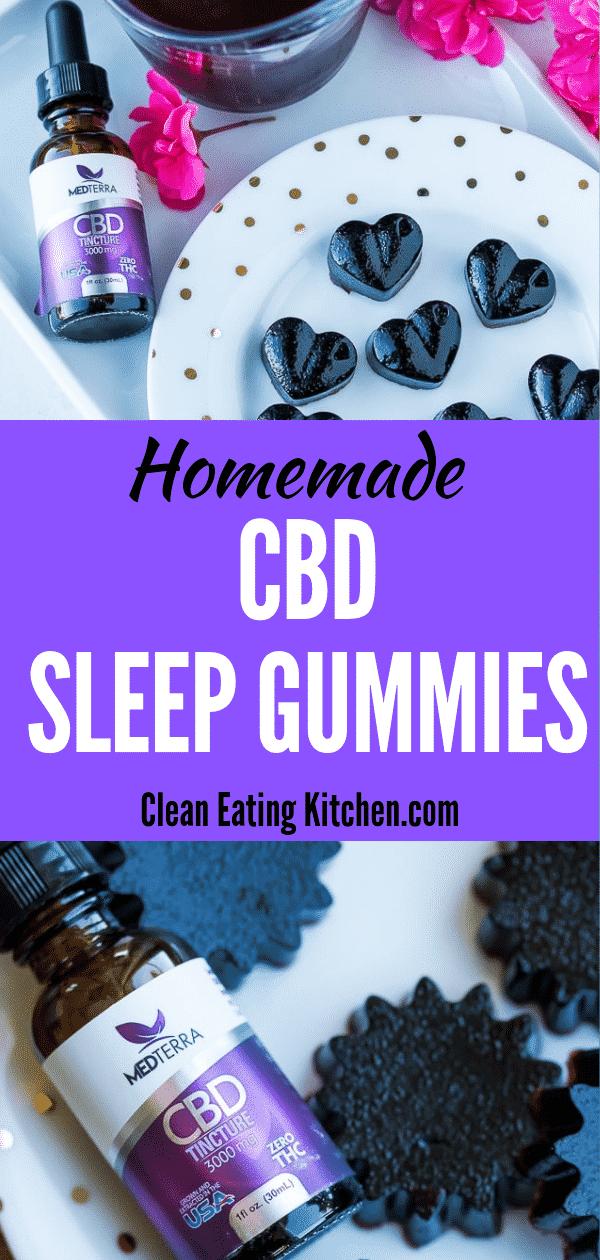 homemade CBD sleep dummies