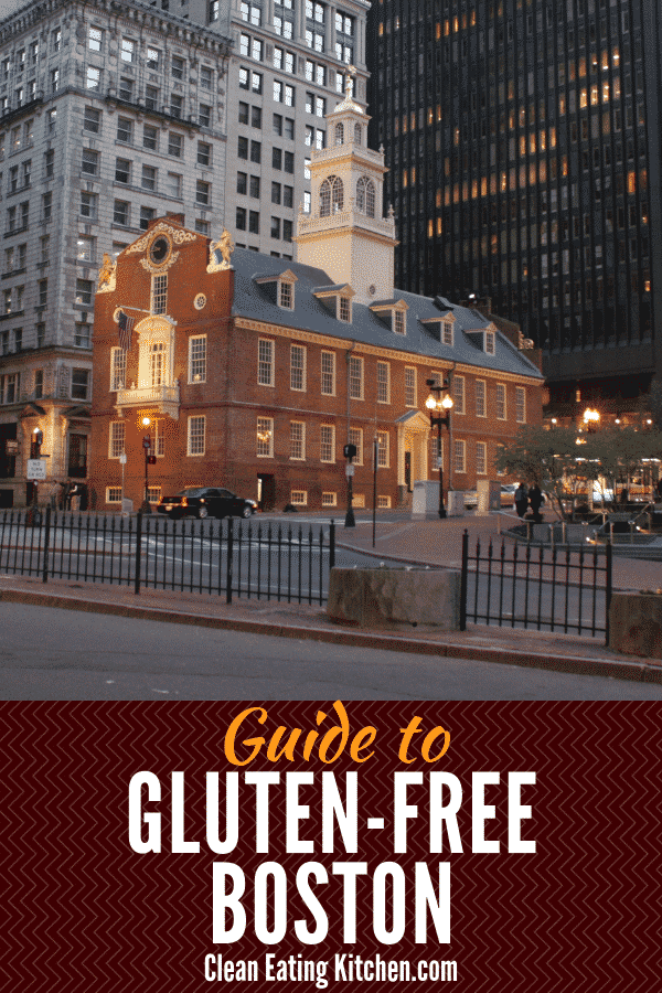Gluten Free Boston guide