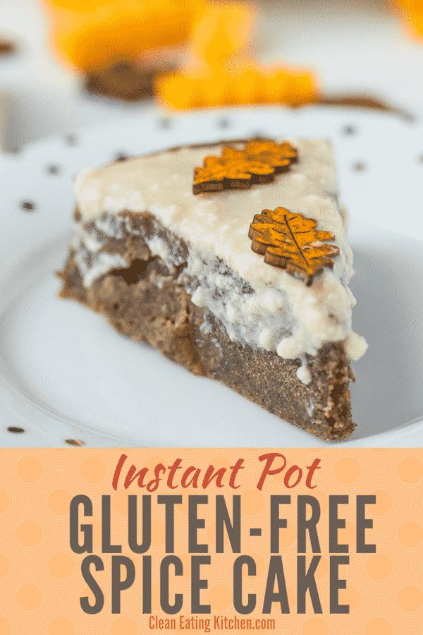 Instant Pot Gluten Free Cake
