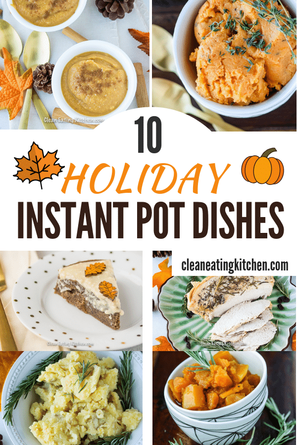 Instant Pot Holiday Dishes