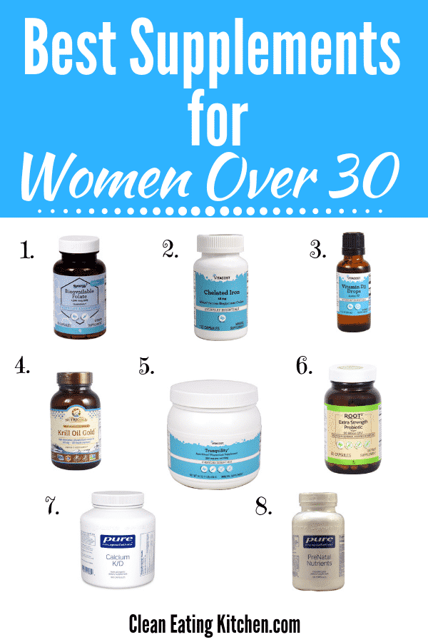 Supplements for Women Over 30