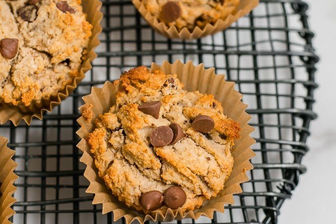 muffins in baking cup
