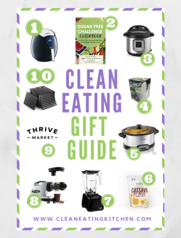 clean eating gift guide facebook