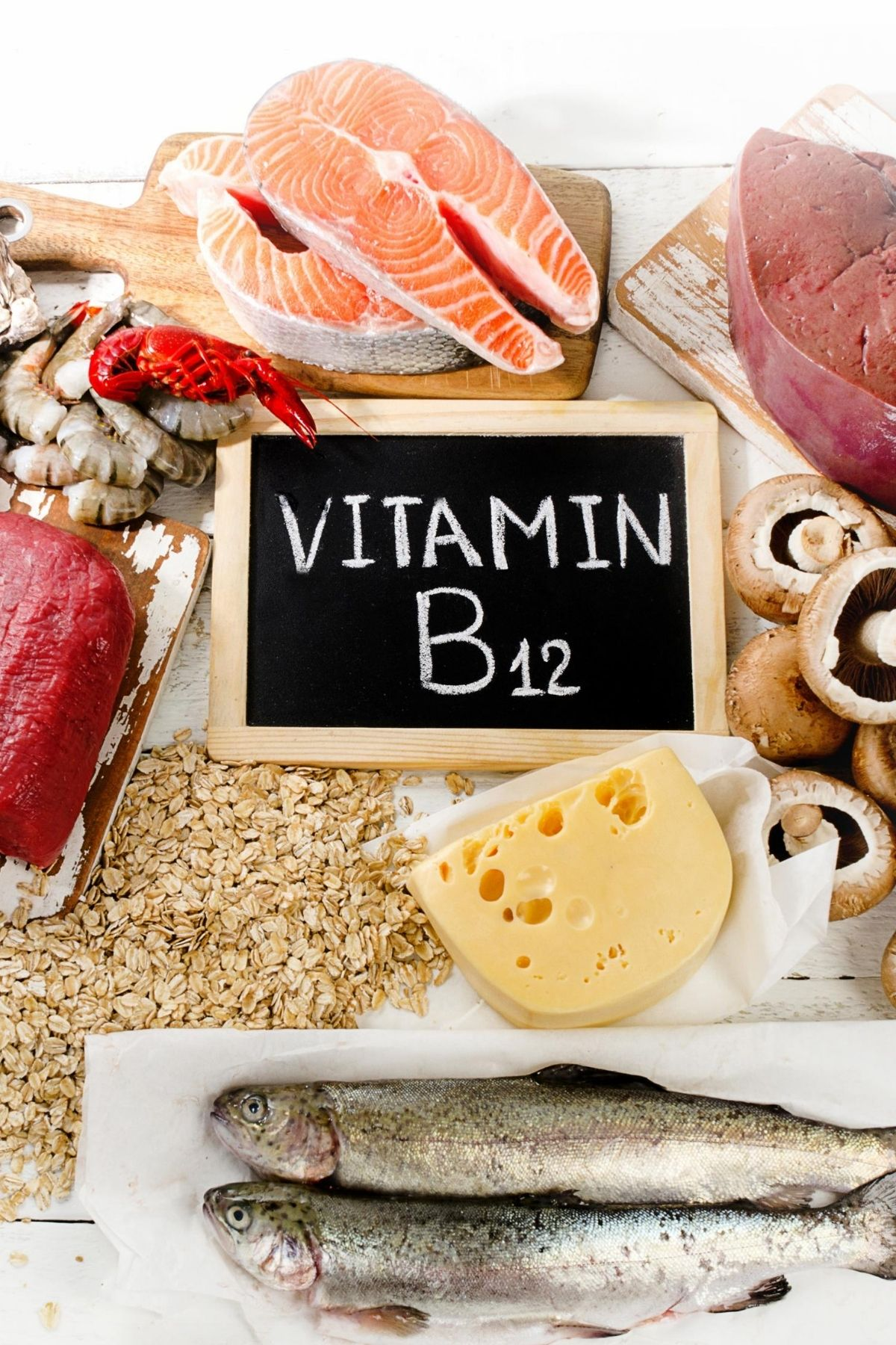 foods rich in vitamin b12 graphic