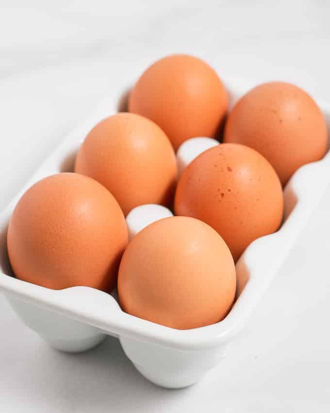 instant pot hard boiled eggs six